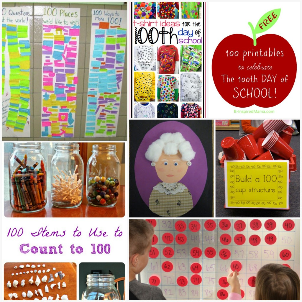 Boy Mama Teacher Mama  Ideas for the 100th Day of School