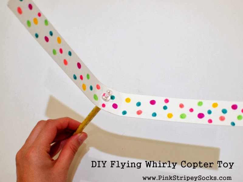 1 DIY Flying Whirly Copter Toy