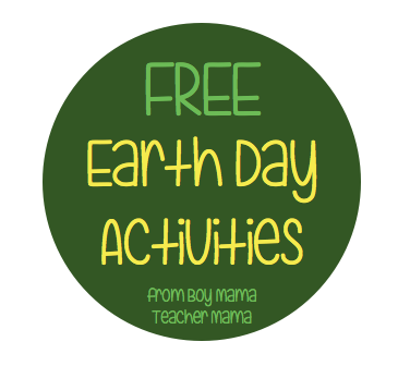 FREE Earth Day Activities from BMTM
