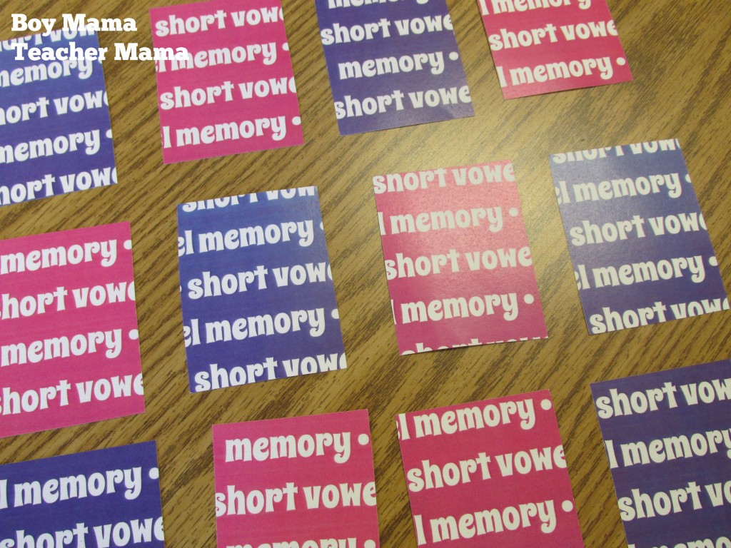 Boy Mama Teacher Mama  Short Vowel Memory.jpg