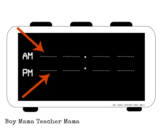 Boy Mama Teacher Mama  Creating a Digital Clock jpg