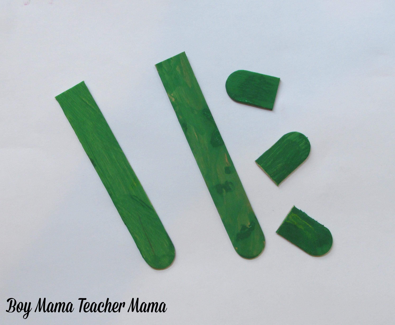 ... Mama: Egg Carton and Popsicle Stick Flowers - Boy Mama Teacher Mama
