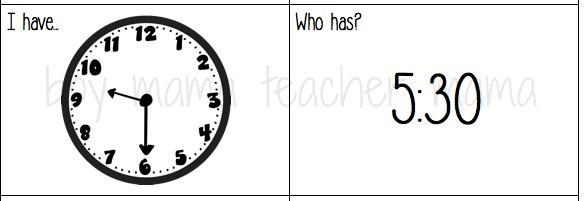 Boy Mama Teacher Mama Games that Teach Time to the Hour and Half Hour 2.jpg