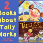 Boy Mama Teacher Mama  2 Books about Tally Marks