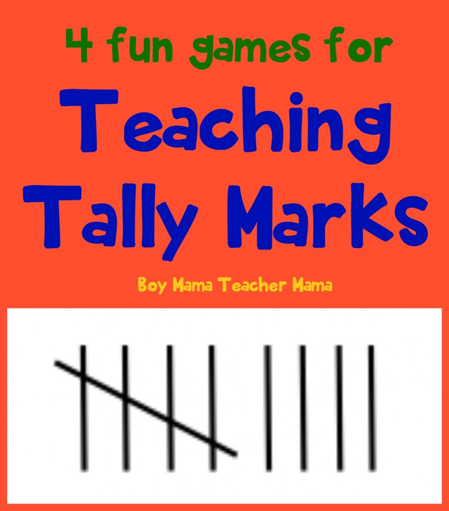 Boy Mama Teacher Mama 4 Fun Games for Teaching Tally Marks.jpg