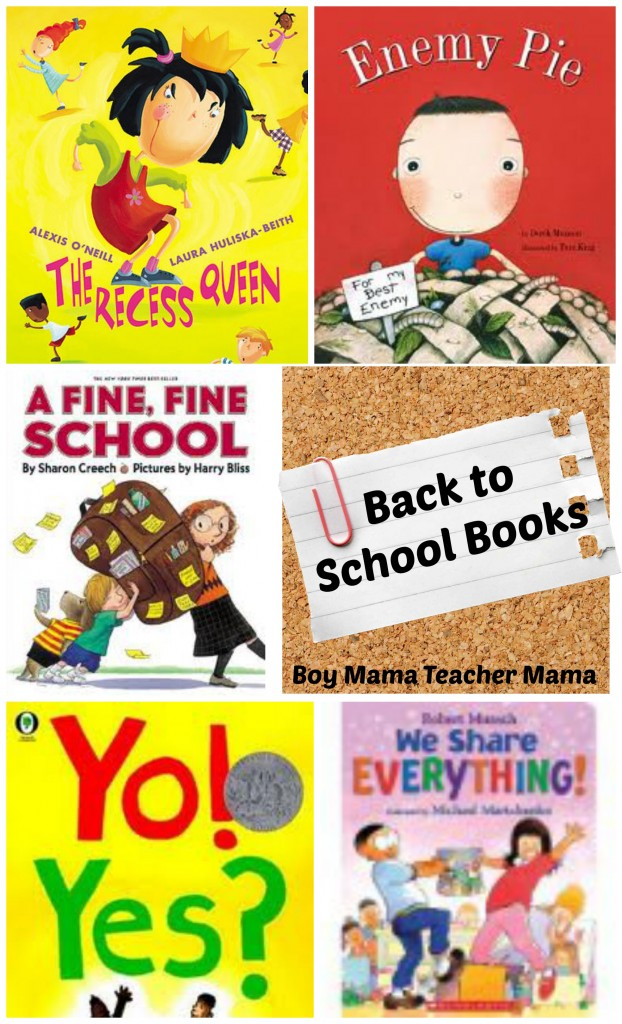 Boy Mama Teacher Mama | Back to School Books