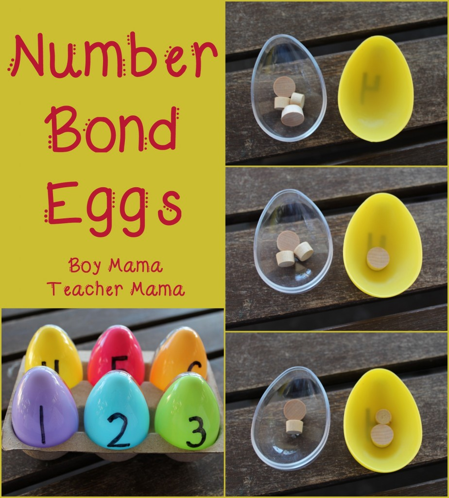 Boy Mama Teacher Mama  Number Bond Eggs (featured)