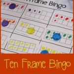 Boy Mama Teacher Mama  Ten Frame Bingo (featured)