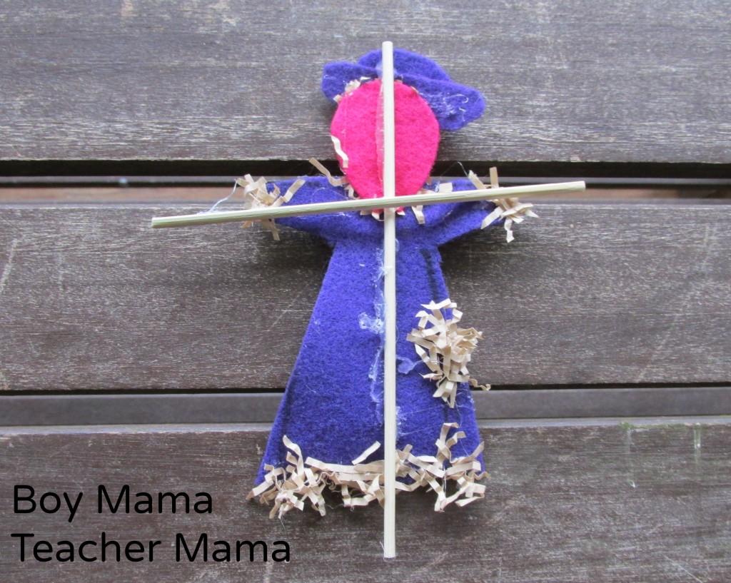 Boy Mama Teacher Mama  Five Little Scarecrows 5