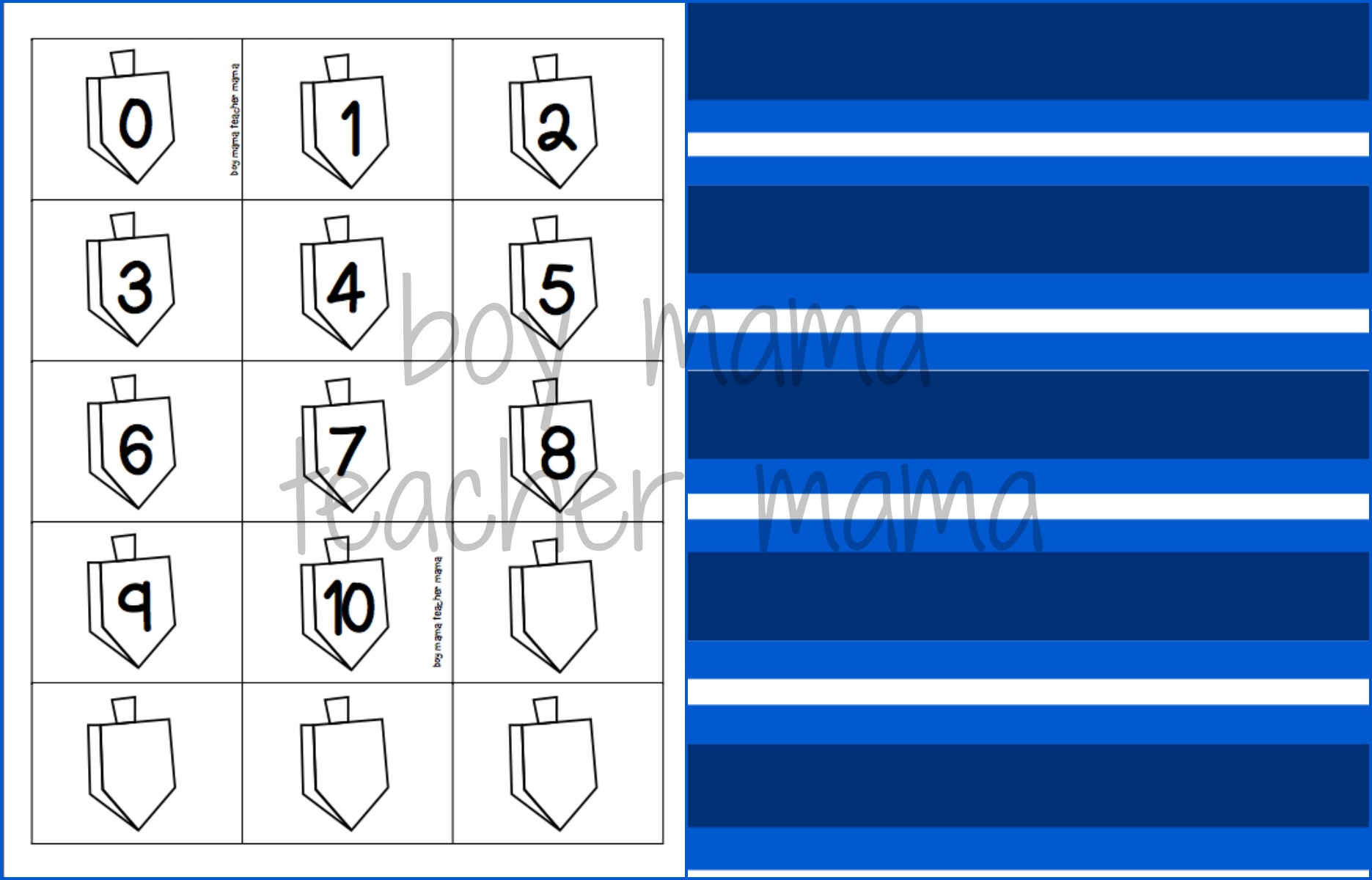 picture about Dreidel Rules Printable titled Printable Dreidel Template