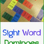 Boy Mama Teacher Mama  Sight Word Dominoes 3