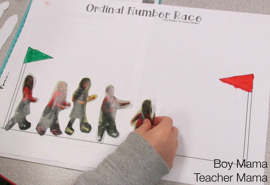 Boy Mama Teacher Mama  Ordinaly Number Race 4