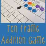 Boy Mama Teacher Mama  Ten Frame Addition Game (featured)
