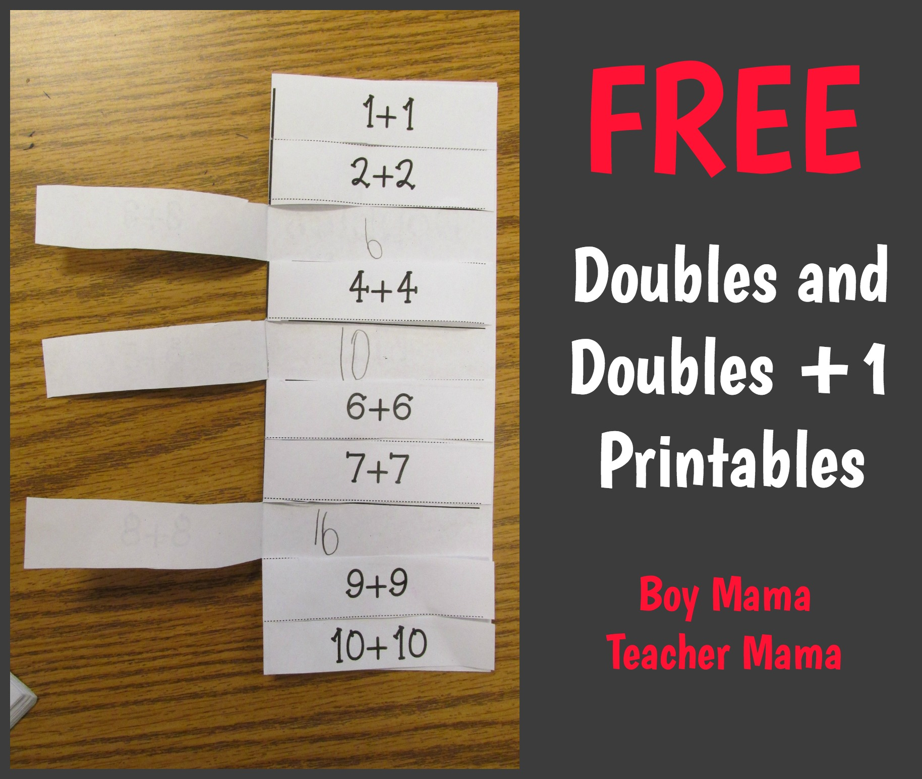 worksheet Doubles Facts doubles facts archives boy mama teacher free and 1 printables updated templates now available cards are important for students to kno