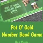 Boy Mama Teacher Mama  Pot O' Gold Number Bond Game (featured)
