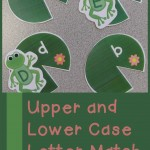 Boy Mama Teacher Mama  Upper and Lower Case Letter Match (featured)