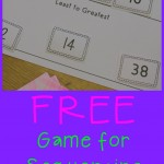 Boy Mama Teacher Mama  FREE Games for Sequencing Numbers 0-40 (featured)