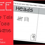 Boy Mama Teacher Mama  FREE Heads or Tails Game