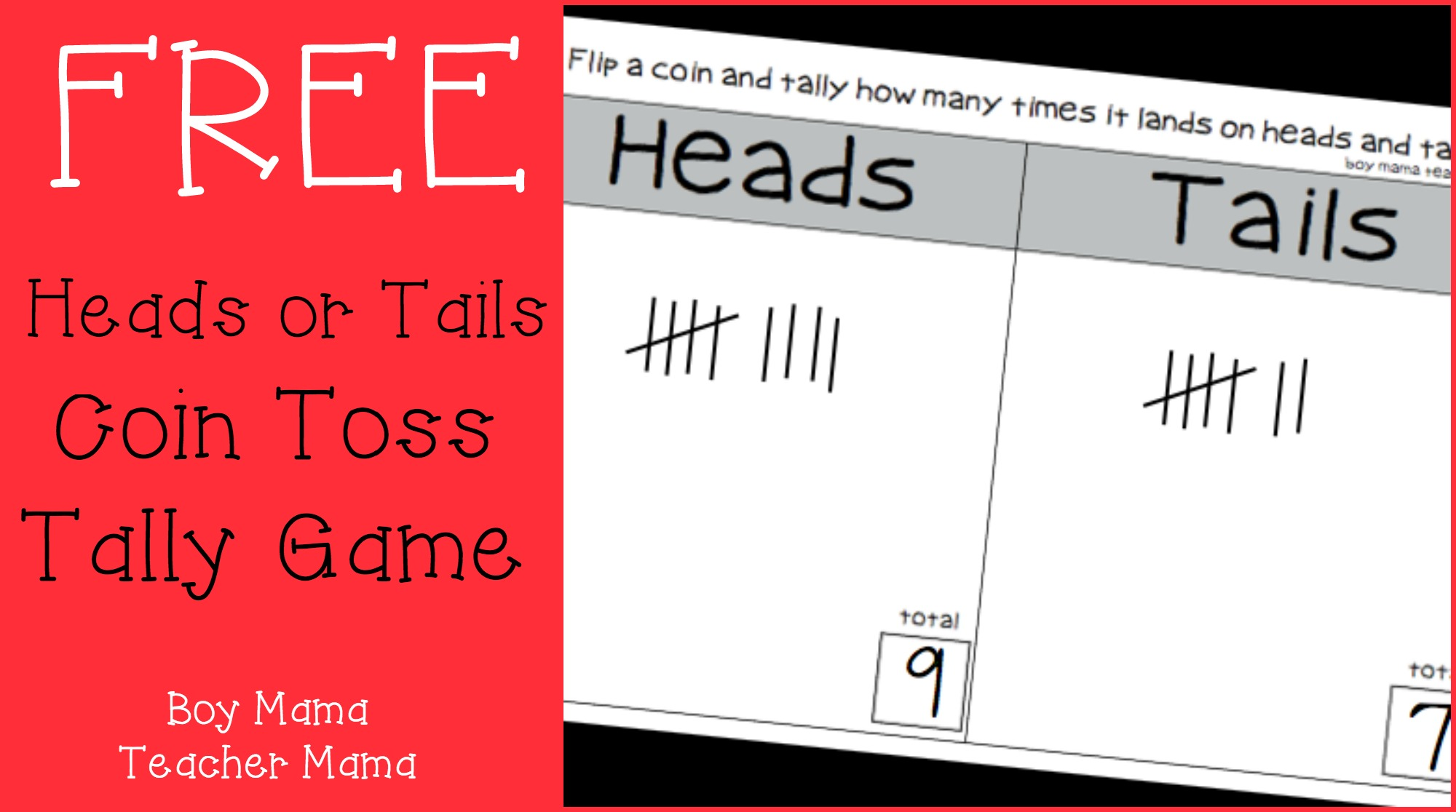 heads or tails game directions for trouble