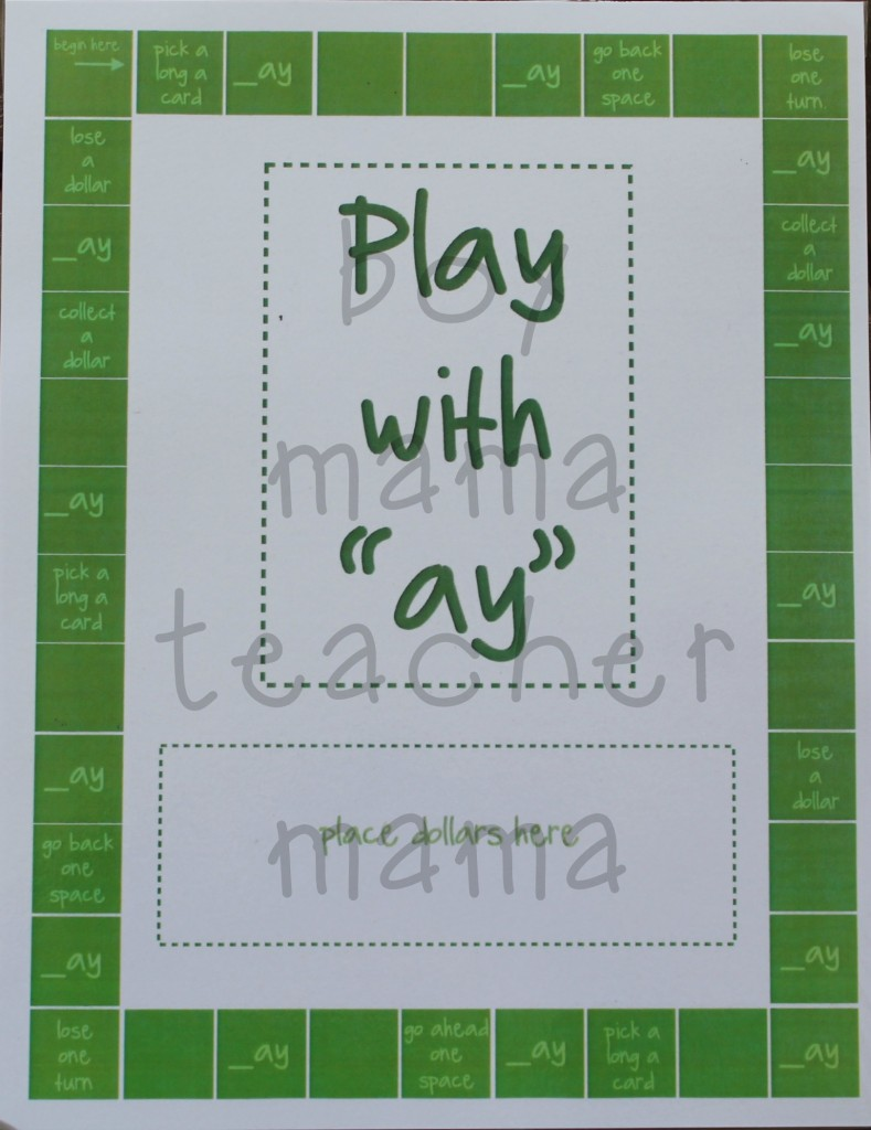 Boy Mama Teacher Mama Play with ay game