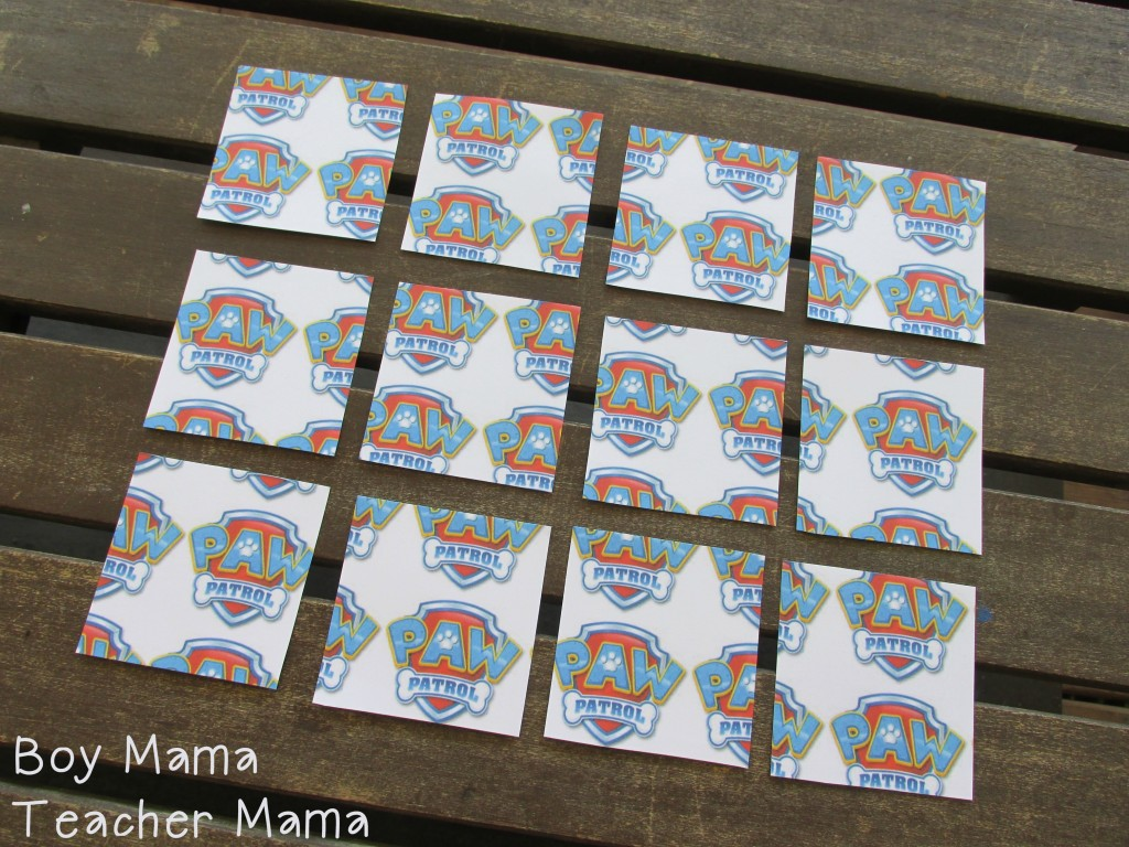 Boy Mama Teacher Mama  FREE Paw Patrol Printable Cards 3