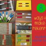 Boy Mama Teacher Mama  8 Ways to Make a Rekenrek