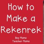 Boy Mama Teacher Mama  How to Make a Rekenrek (featured)