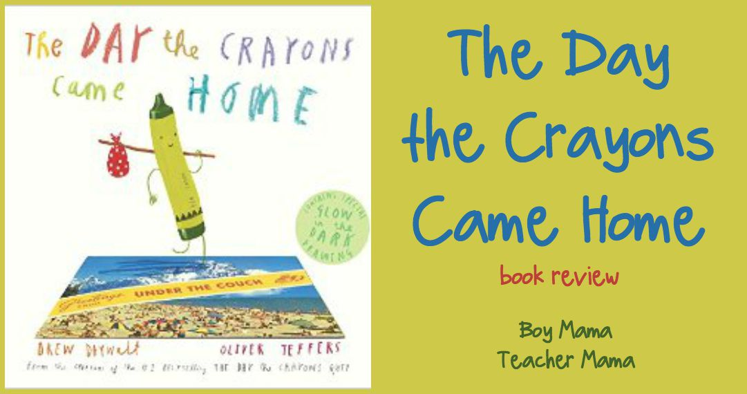 book mama the day the crayons came home review and giveaway boy