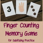 Boy Mama Teacher Mama  Finger Counting Memory Game 3