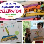 Boy Mama Teacher Mama  The Day the Crayons Came Home Celebration and Free Printables