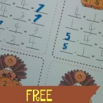 Boy Mama Teacher Mama  FREE Turkey Fact Family Practice Sheets (featured)