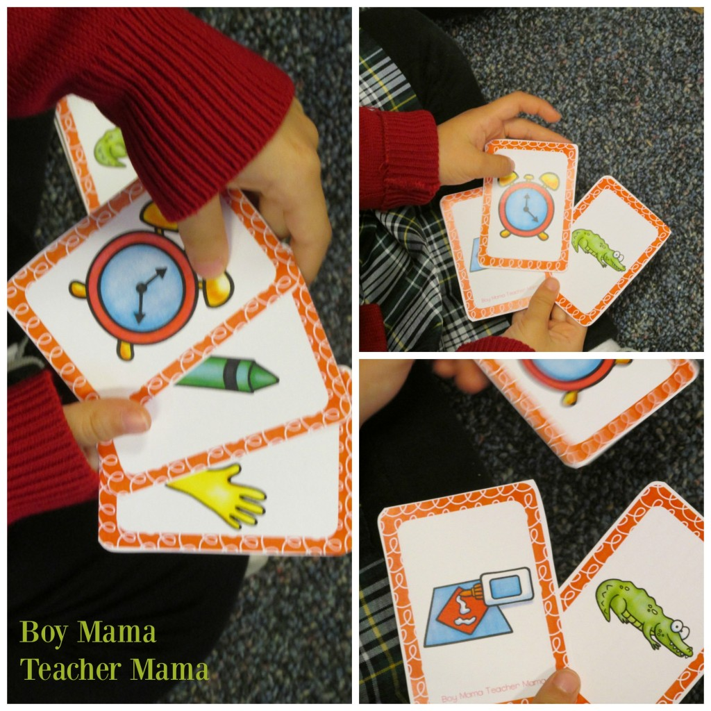 Boy Mama Teacher Mama Blends Card Game