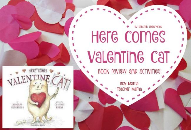 Boy Mama Teacher Mama Here Comes Valentine Cat