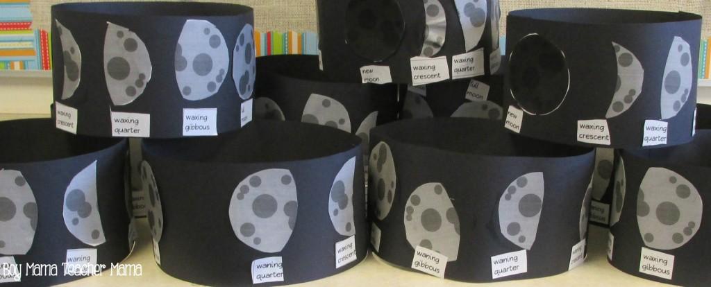 Boy Mama Teacher Mama Phases of the Moon Activity