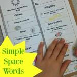 Boy Mama Teacher Mama  Simple Space Words Book (featured)