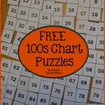 Boy Mama Teacher Mama  100s Chart Puzzles