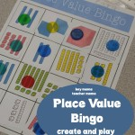 Boy Mama Teacher Mama  Place Value Bingo