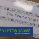 Boy Mama Teacher Mama  Ten Frame Games