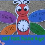 Boy Mama Teacher Mama  Half Past Puzzle Bugs 3