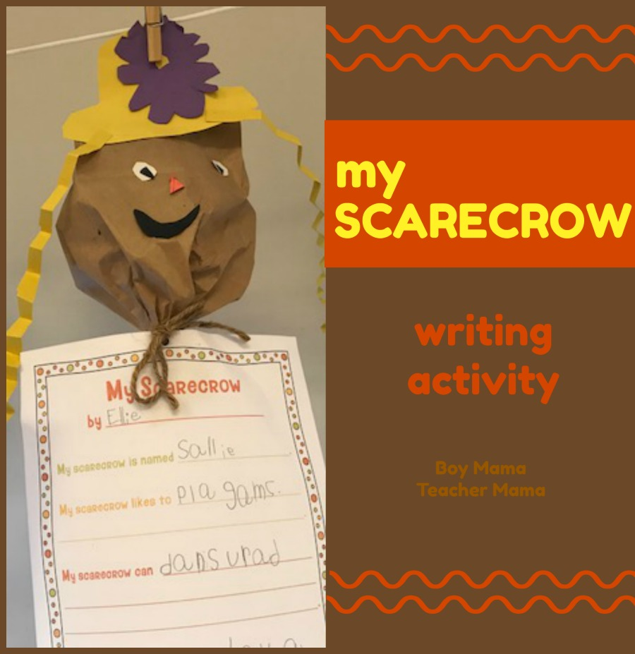 scarecrow writing paper As an optional extension to the craft or art lesson i have included coordinating ' writing papers' so you can ask your students to complete a piece.