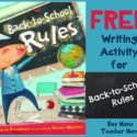 Teacher Mama: FREE Writing Activity for Back to School Rules