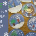 Teacher Mama: FREE Trapped in a Snow Globe Writing Printable