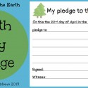 Boy Mama: Earth Day Pledge