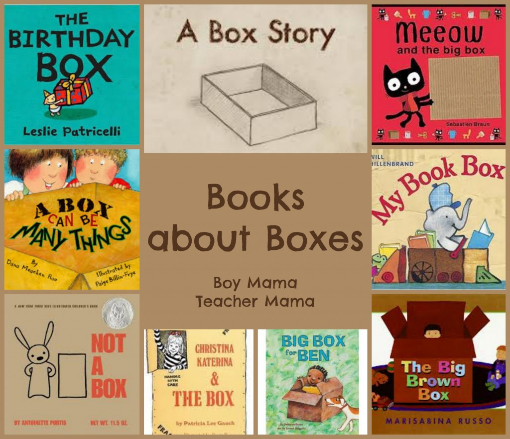 Boy Mama Teacher Mama  Books About Boxes
