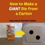 Boy Mama Teacher Mama | Giant Die