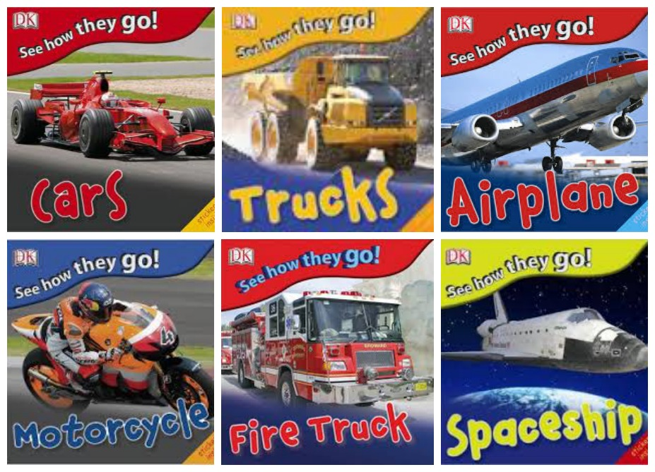 Boy Mama Teacher Mama  Books about Vehicles 5