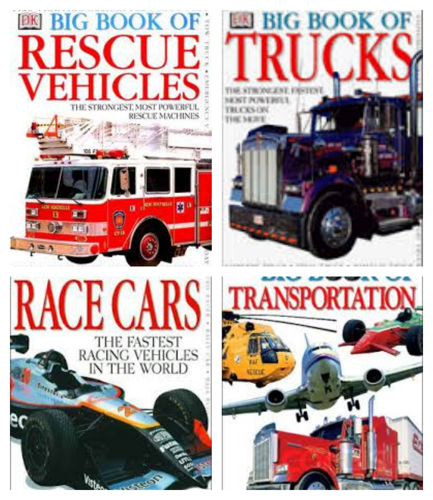 Boy Mama Teacher Mama  Books about Vehicles 7