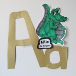 short vowel friend-- Allie the Alligator