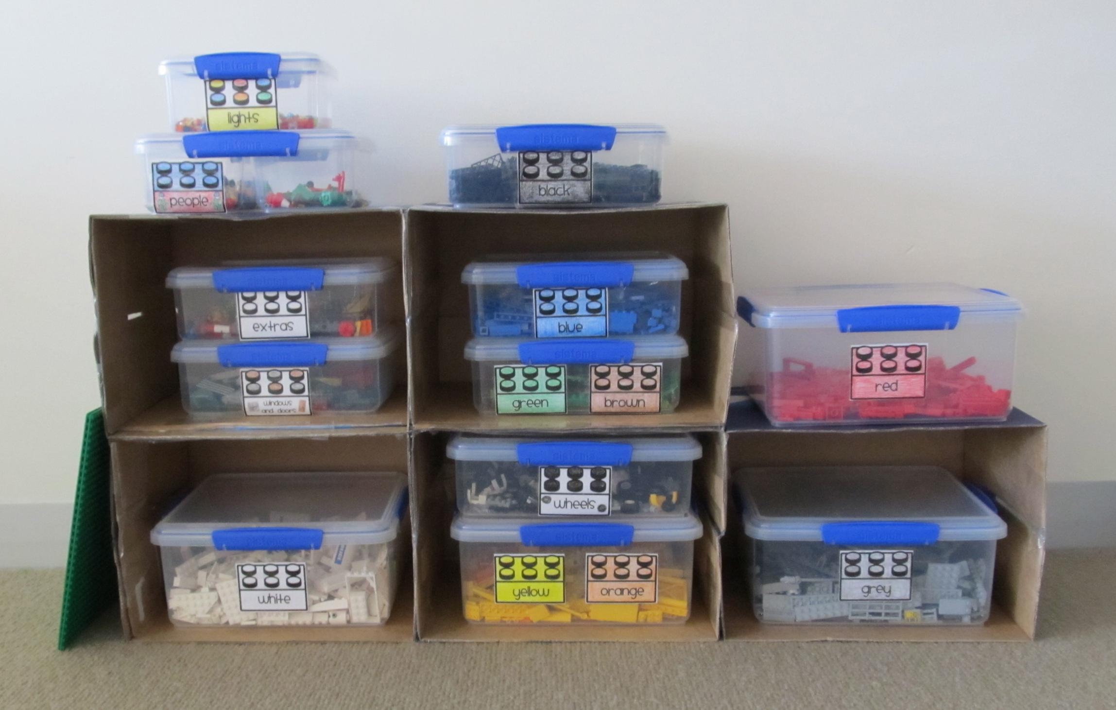 Lego Organization Labels www.boymamateachermama.com