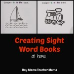Boy Mama Teacher Mama | Creating Sight Word Books